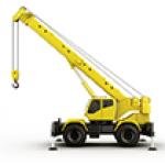 Mobile Crane < 15 Ton